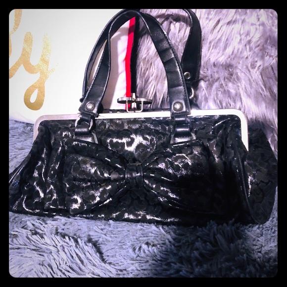 Rock Rebel Handbags - Adorable rock rebel bow purse